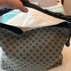 Unique extra large Dooney & Bourke anniversary sac